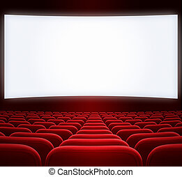wide cinema screen