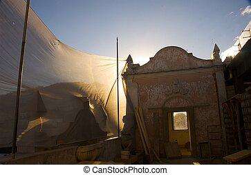 Quito old sky - Ciudad de quito en sudamerica centro...