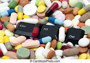Ctrl, Alt, Del keys among drugs - Ctrl, alt, Del keys among...