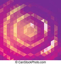 Purple grid pattern - Vector background with purple and...