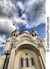 Orthodox temple - The orthodox temple in the light of a...