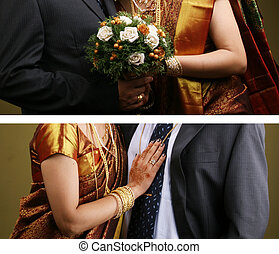 Wedding couples - Indian christian wedding snaps were...
