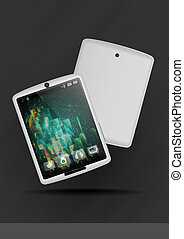 Tablet Pc & Mobile Phone.