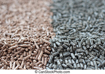 Pellets - Pine and Sunflowers  pellets- photography