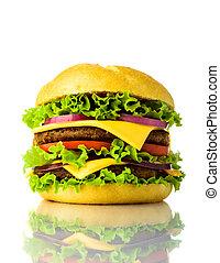 traditional hamburger - traditional american hamburger...