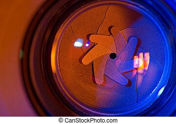 Shutter blades - Camera shutter aperture blades