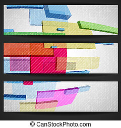 Abstract Rectangle Banner.