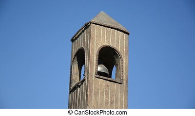 belfry imitation blue sky