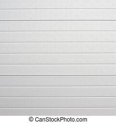 白, プラスチック, 壁, おおうこと, カバー