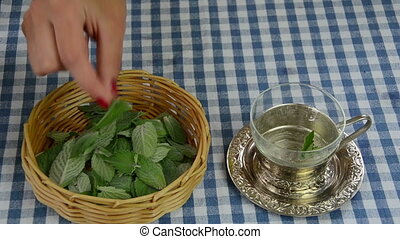 mint tea prepare