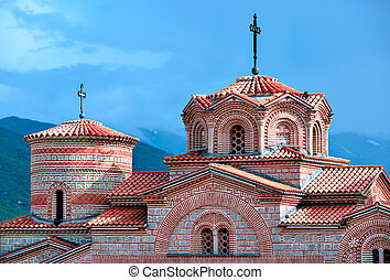 Saint Panteleimon Monastery in Ohrid, Macedonia