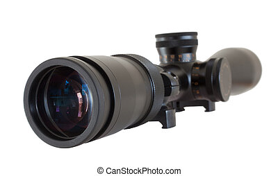 High Magnification Rifle Scope