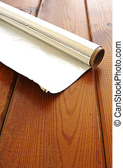 Kitchen Foil - Roll of kitchen or aluminum foil