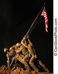 Iwo Jima Memorial in Arlington National Cemetery, Washington