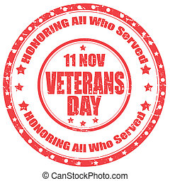 Veterans Day-stamp