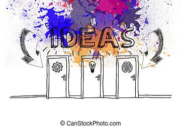 Ideas on paint splashes