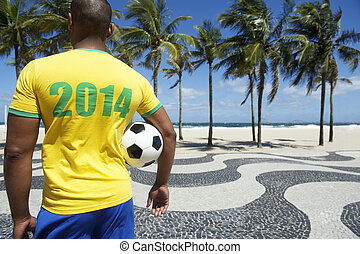 Brazilian soccer player 2014