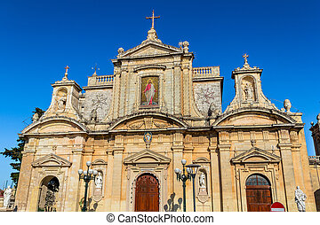 St Paul Church - The St Paul church in Rabat, Malta.