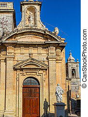 St Paul Church Side Door - One of the side doors of St Paul...