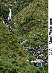 Bhagsu Waterfall, India