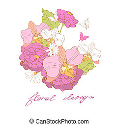 flores, diseño