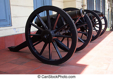 Canon - Fort St. George Museum, Chennai, India