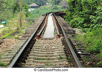 The old military railway Trian - The old military railway...