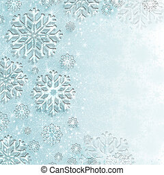 Winter Wonderland Sparkle - Beautiful ice blue winter...