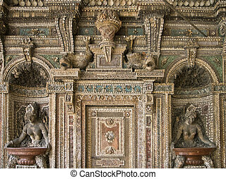 Munich Residenz, Grotto court - Grotto court, courtyard in...