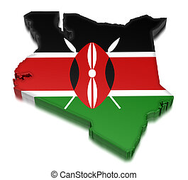 Kenya (clipping path included)
