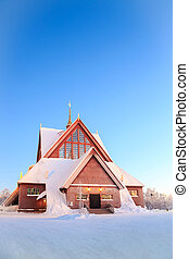 Kiruna cathedral Sweden - Kiruna cathedral church...