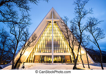 Arctic Cathedral Norway - Arctic Cathedral Church in Tromso...