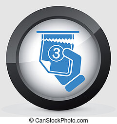 Ticket queue icon