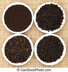 Tea Leaf Sampler - Tea leaf selection of assam, darjeeling,...