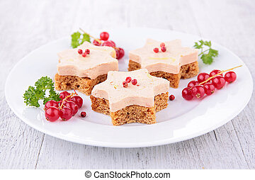 gingerbread with foie gras
