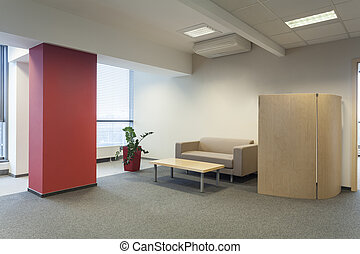 Place for guests - Waiting room in a modern office interior
