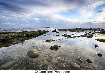 Osmington Mills in Dorset - The beach at Osmington Mills...