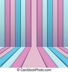 tape volume - beautiful pink ribbon, forward-dimensional...