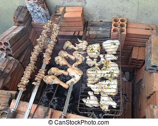 Brazilian Barbecue, real barbecue, gaucho barbecue.