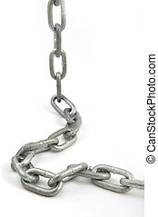 Chain - Simple chain on white background