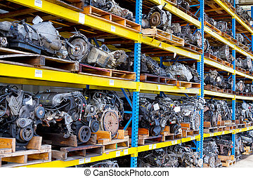 Automobile Engine Blocks - Car and truck engine block motors...