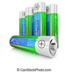 Batteries class AA