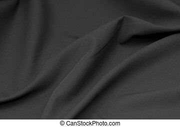 background of black cloth texture