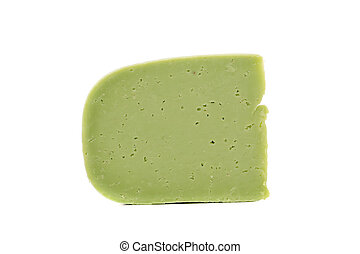 wasabi, fromage, morceau
