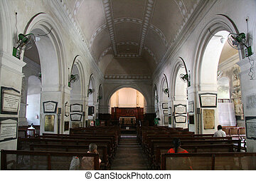 St. Mary\'s Church, Fort St. George, Chennai, India