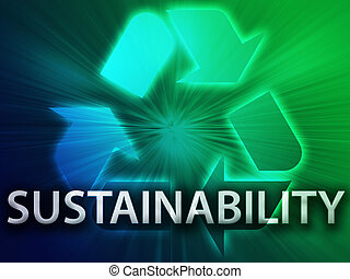 Recycling symbol, eco environment friendly sustainability...