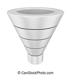 Marketing funnel - Purchase funnel illustrating the customer...