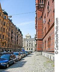 bebyggelse,  Stockholm