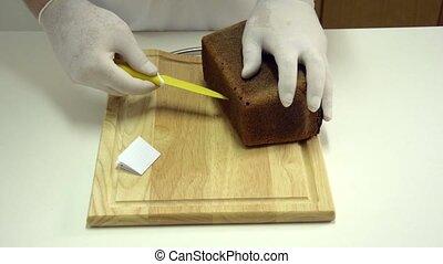 Rye bread with fillings - Hide secret note in loaf of rye...