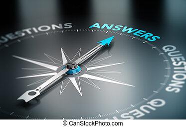 negócio, Soluções, consultar